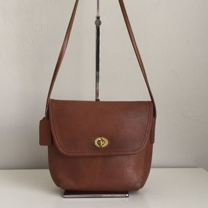 Lovely Coach made in the USA leather bag